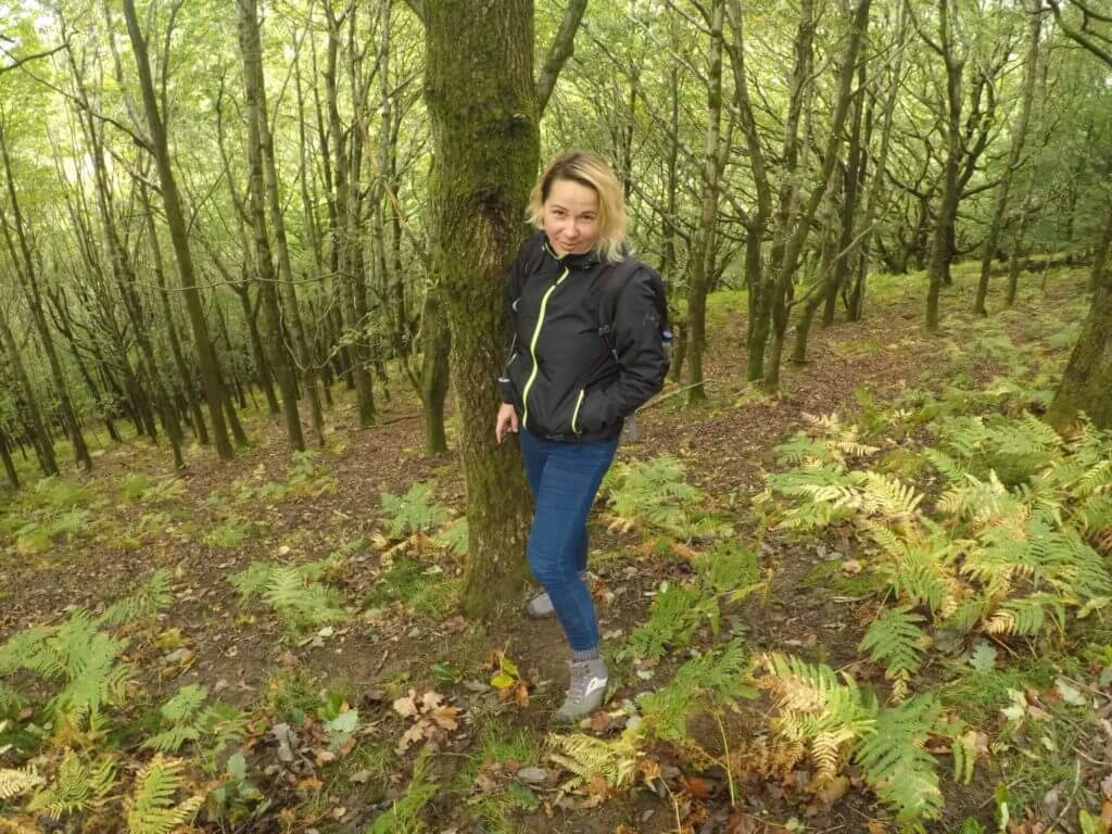 Didem in the forest
