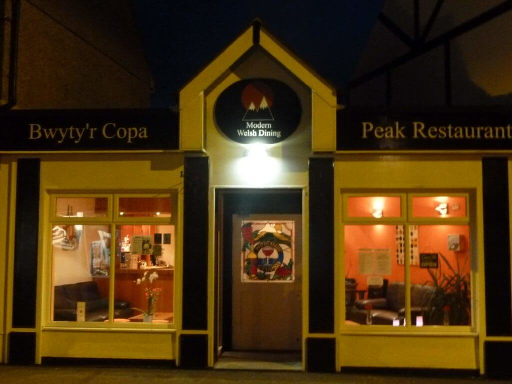 Peak Restaurant Llanberis