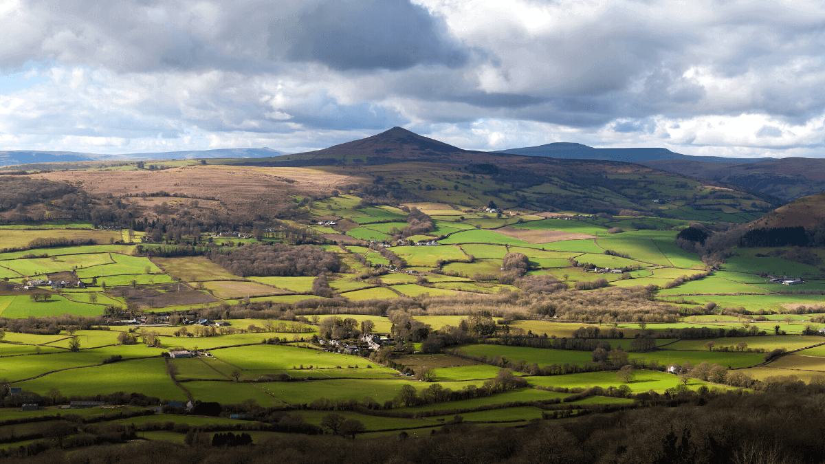 Sugarloaf Mountain Walk in the Brecon Beacons National Park