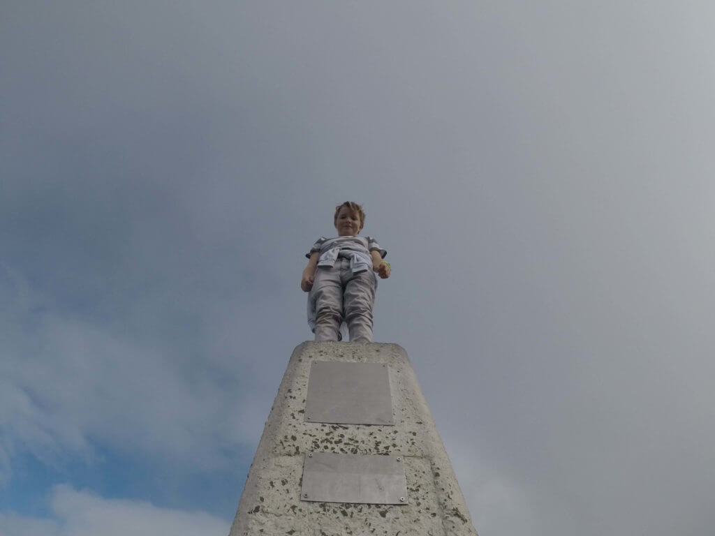 William on the summit of Sugarloaf Mountain