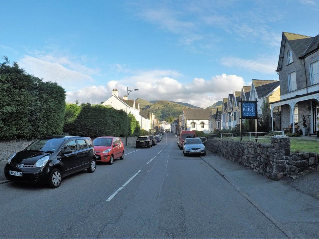 High Street in Llanberis