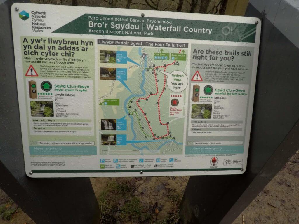 Waterfall Country Information Board