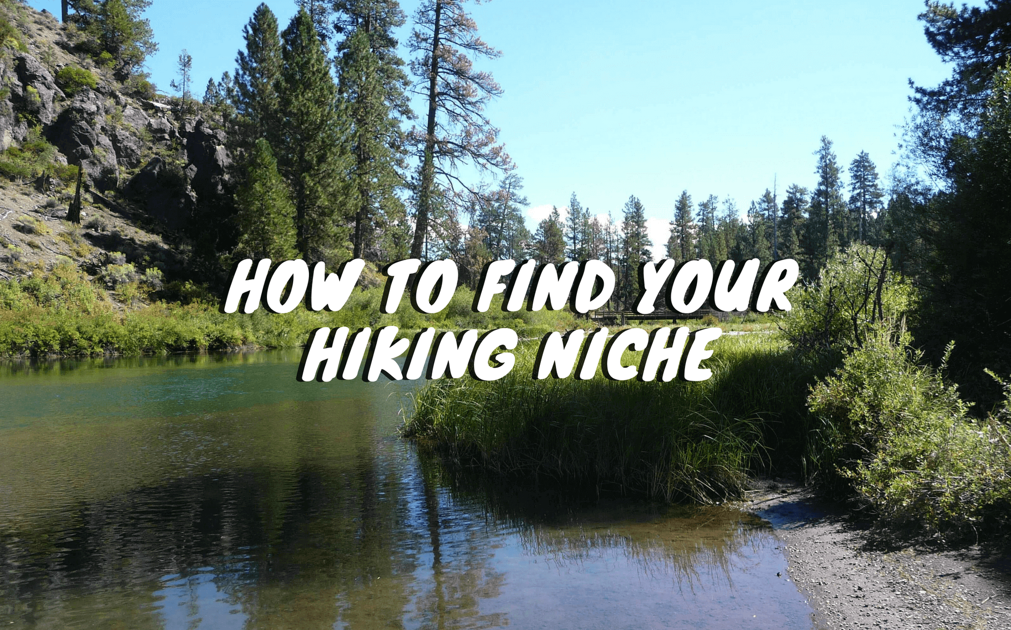 How to Find the Right Niche for Your Hiking Blog