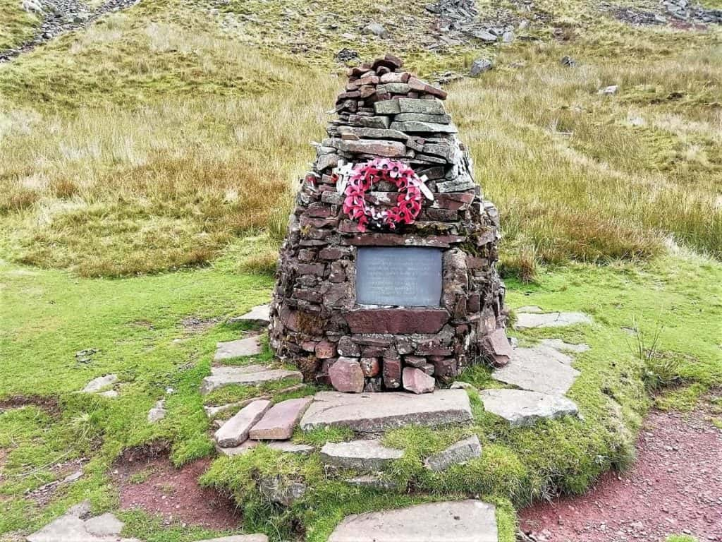wellington bomber crash site memorial