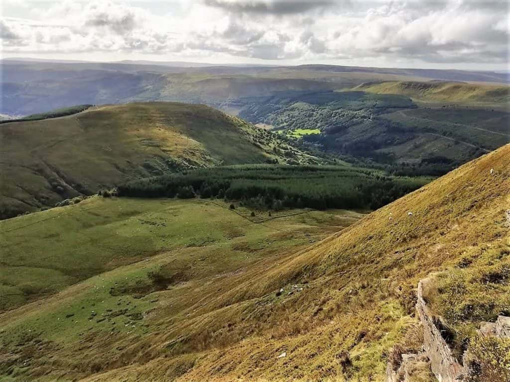 caerfanell river valley