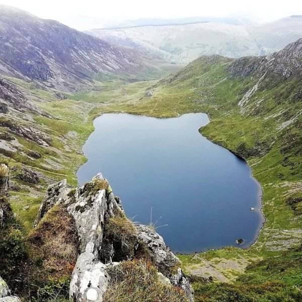Cadair Idris Walk Via The Minffordd Path