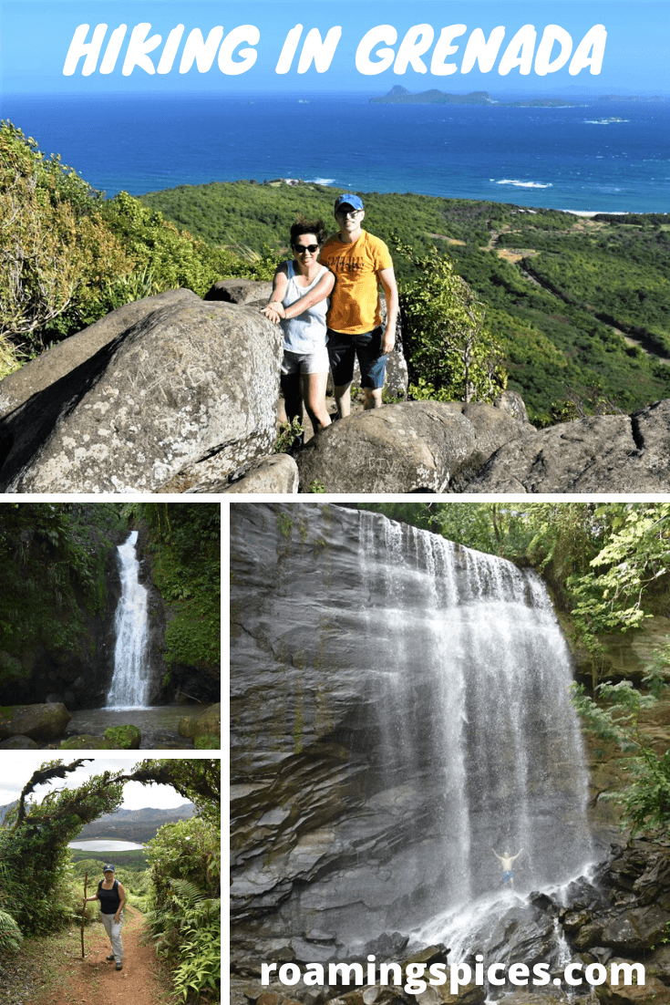hiking in grenada