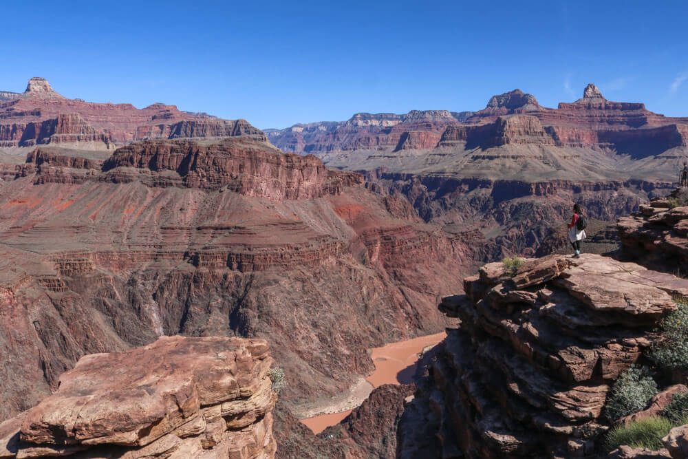 plateau point in grand canyon national park
