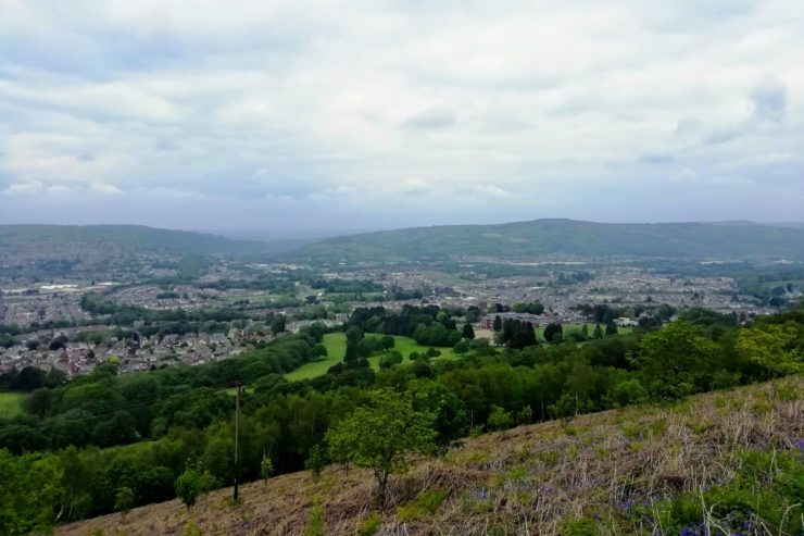 caerphilly mountain view