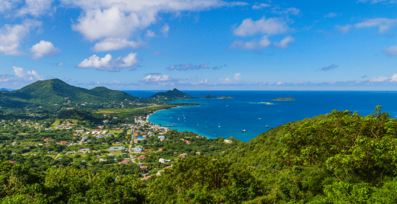 high north peak carriacou view