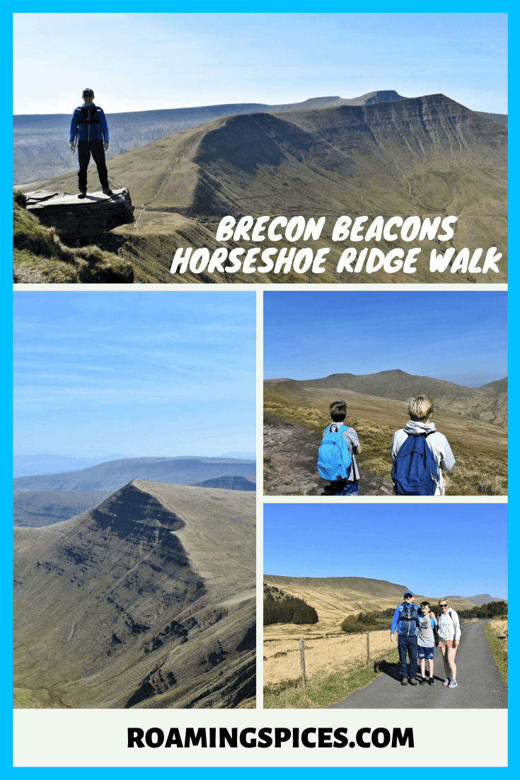 brecon beacons horseshoe ridge walk