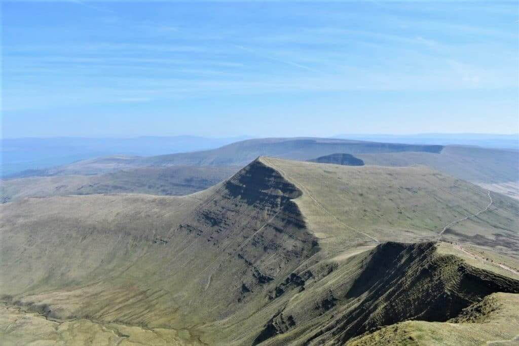 northern slopes of cribyn