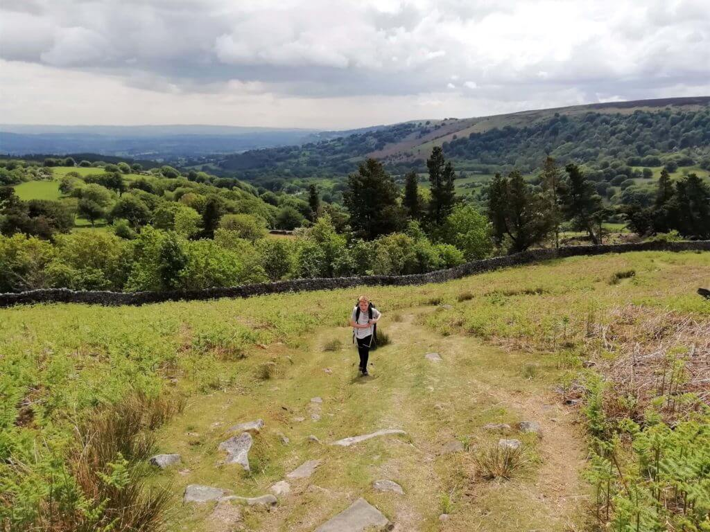 southerly views from blorenge mountain