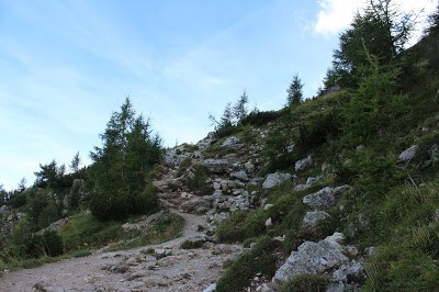 Hike Up to Rifugio Coldai