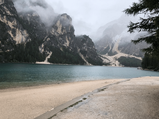 The Path Along Lago Di Braies