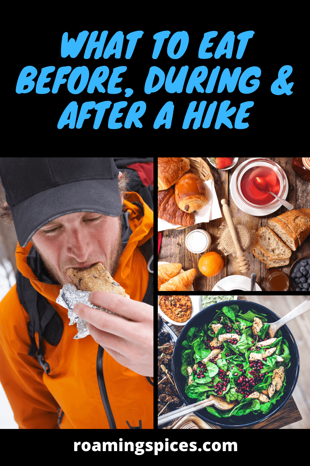 what to eat before, during and after a hike