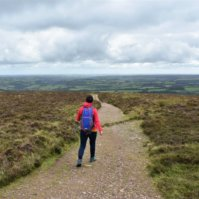 Dunkery Beacon Walk to the Highest Point in Exmoor