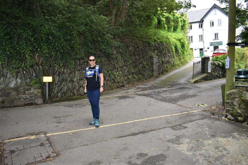 north walk road in lynton, devon