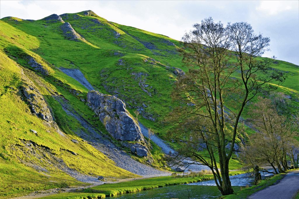dovedale walk - one of the best walks in the peak district