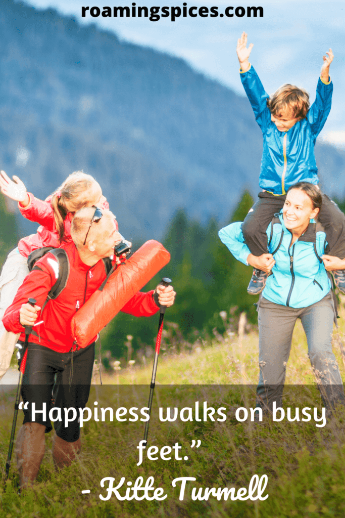 inspirational hiking quotes by Kitte Turmell