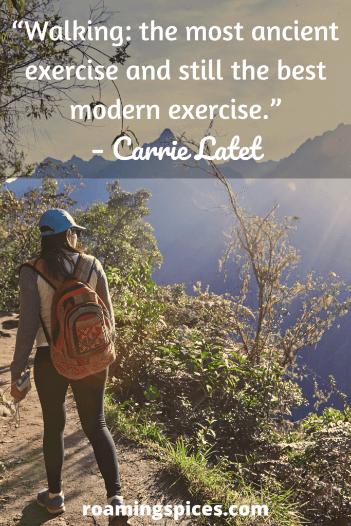 Carrie Latet inspirational hiking quote