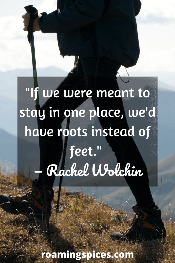 Rachel Wolchin funny hiking quotes