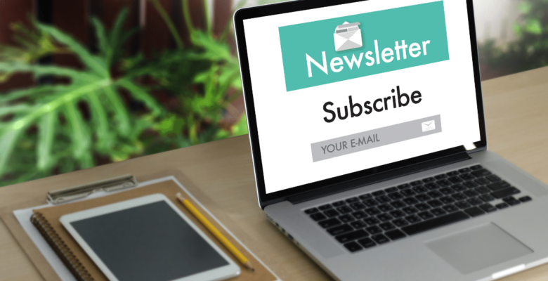 creating a newsletter for your blog