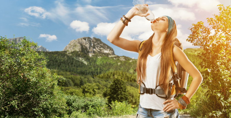 knowing how much water to bring on a hike