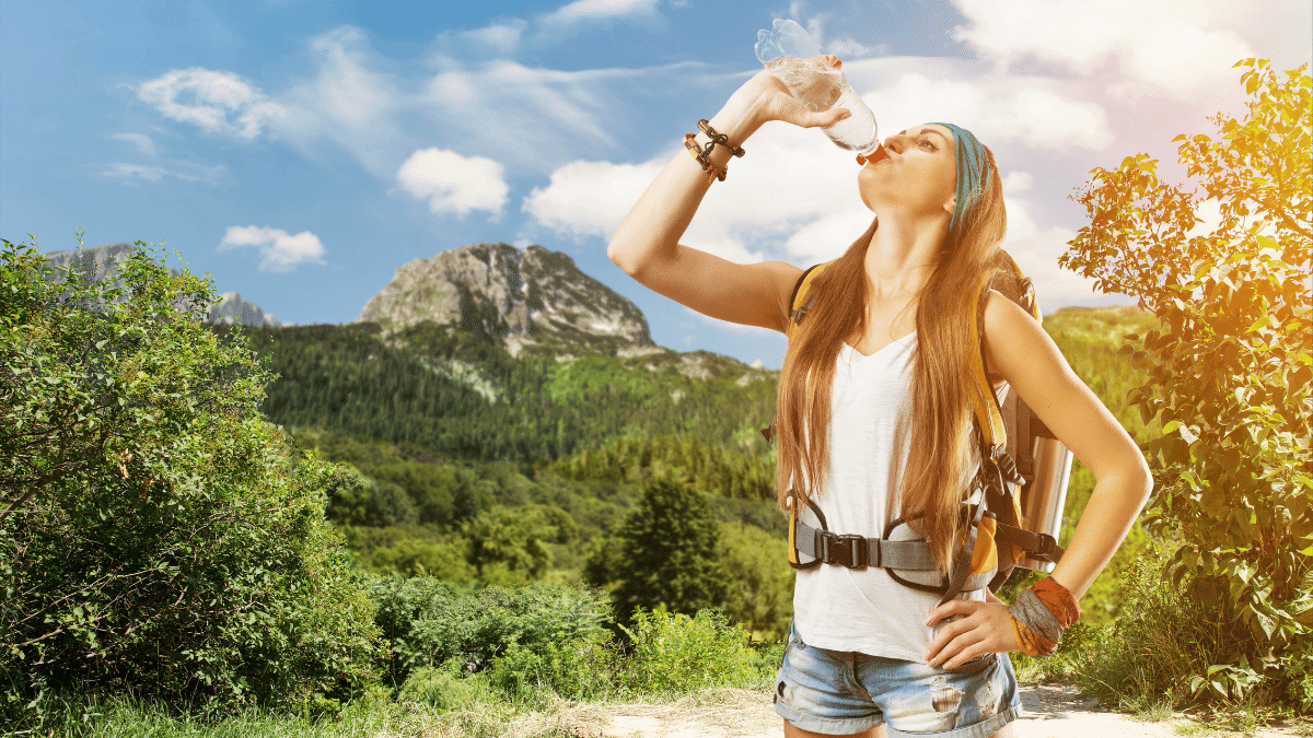 How Much Water to Bring on a Hike