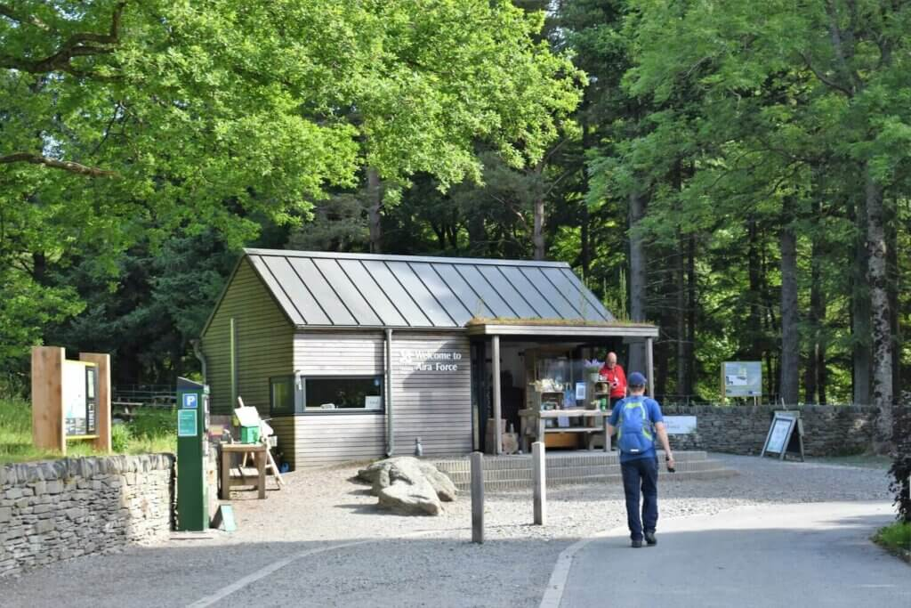 national trust welcome centre at aira force