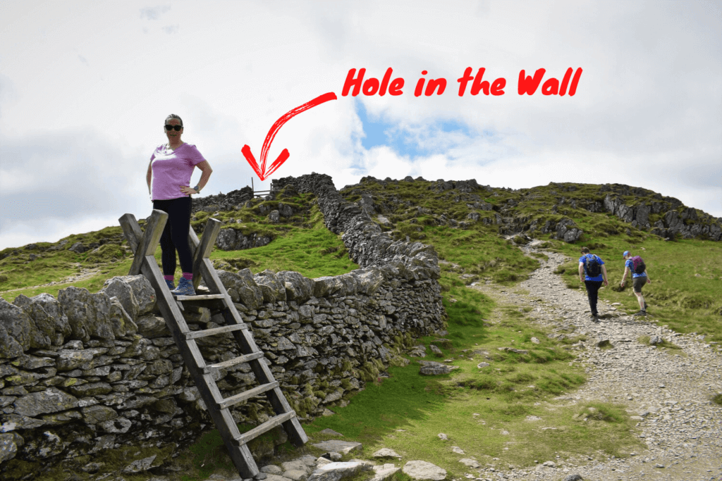 hole in the wall on the helvellyn walk
