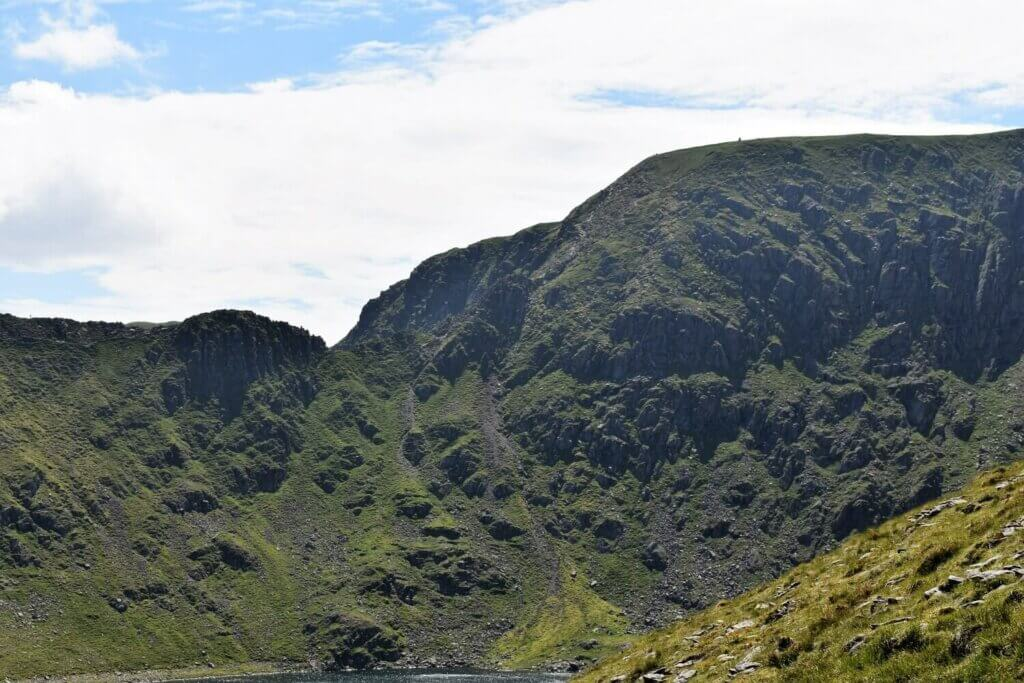view of striding edge from catstye cam