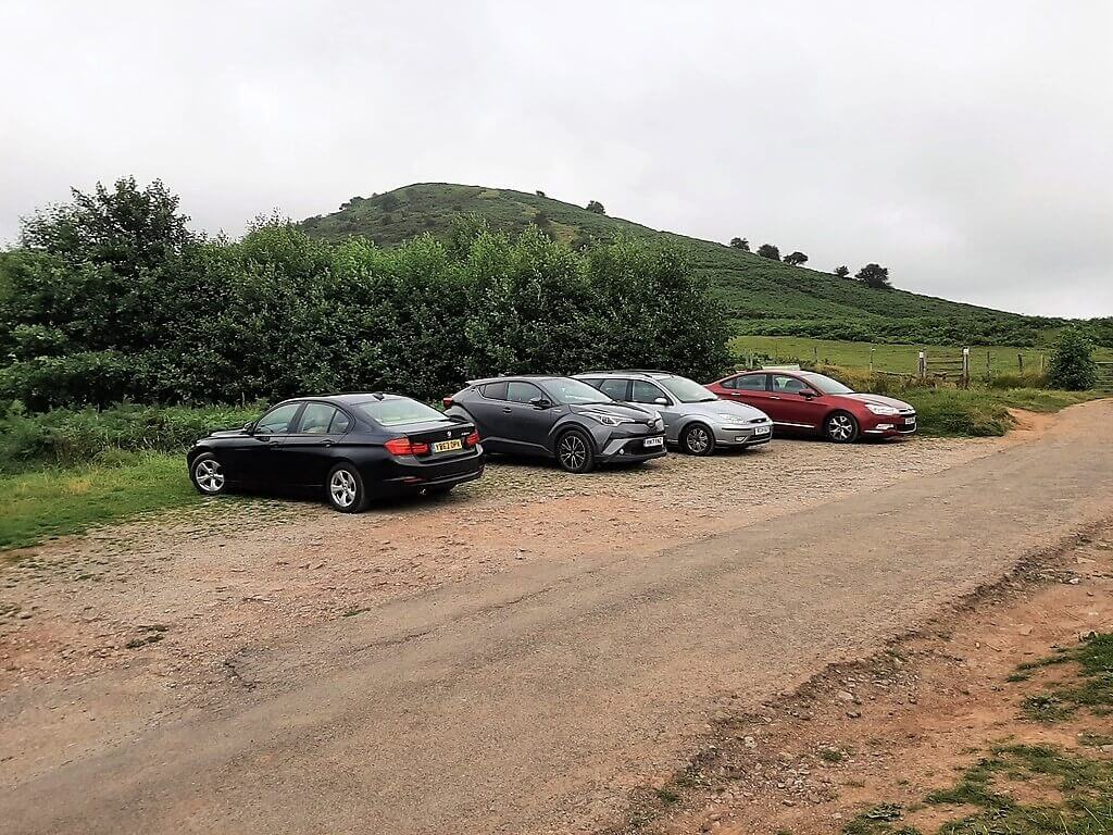 black hill car park in herefordshire