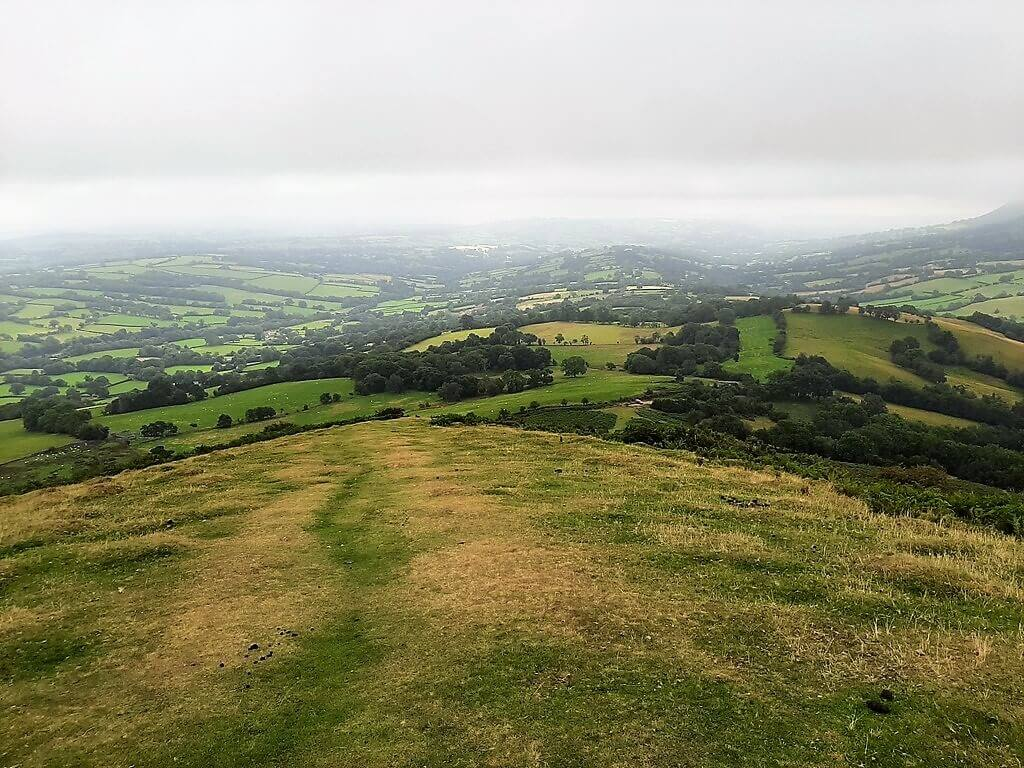 southerly view from black hill ridge