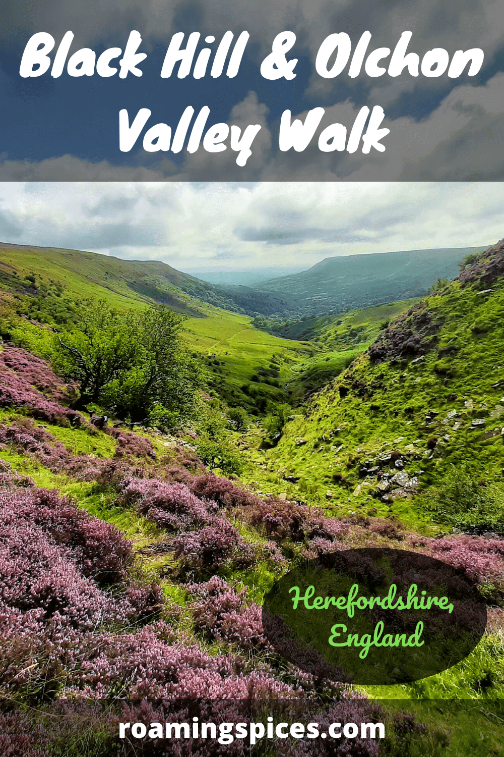 black hill and olchon valley walk