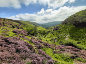 black hill walk and the olchon valley in herefordshire